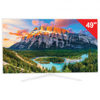 "Телевизор SAMSUNG 49"" (124,5 см) 49N5510, LED, 1920x1080 Full HD, 16:9, 100 Гц, HDMI, USB, белый, 17 кг"