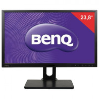 "Монитор BENQ BL2420PT 23,8"" (60 см), 2560x1440, 16:9, IPS, 5 ms, 300 cd, VGA, DVI, HDMI, DP, USB, HAS Pivot, черный, 9H.LCWLA.TBE"