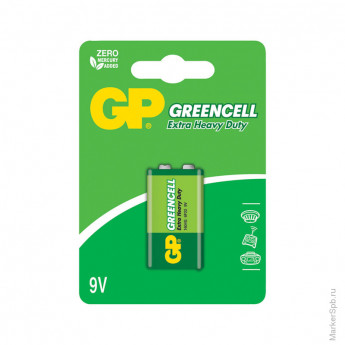 Батарейка MN1604 GP Greencell 1604G BC1 КРОНА