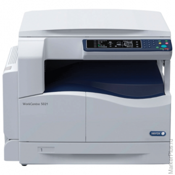 МФУ лазерное XEROX WorkCentre 5021 (принтер,копир,сканер) А3 20стр/мин 25000стр/мес (без каб USB)