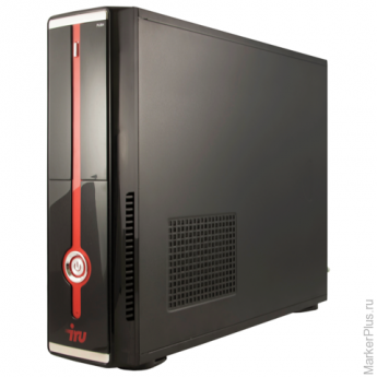 Системный блок IRU Office 310 SFF INTEL Celeron J1800, 2,41 ГГц, 2 Гб, 500 Гб, DOS, черный, 357945
