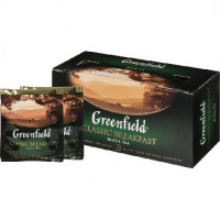 Чай Greenfield Classic Breakfast черный фольгир. 25пак/уп 0354-15,218133