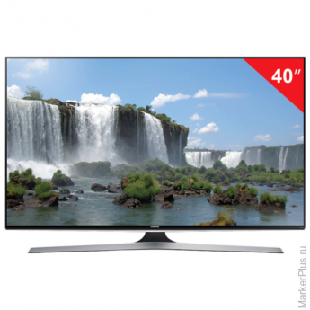 "Телевизор LED 40"" SAMSUNG UE40J6200,1920x1080FullHD, 16:9,SmartTV, Wi-Fi, 200Гц, HDMI, USB, черн, 8,7кг"
