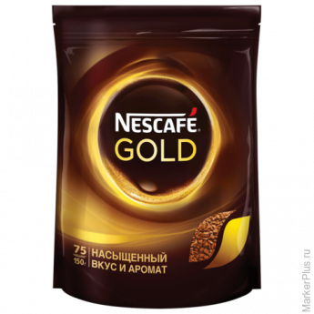 "Кофе растворимый NESCAFE ""Gold"", 150 г, мягкая упаковка, 12137730"