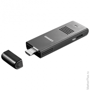 Системный блок LENOVO IdeaCentre Stick 300 IntelAtom Z3735F 1,83ГГц/2Гб/32Гб/CR/W8.1 90ER000BRU