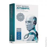 "Антивирус ESET NOD32 ""Platinum Edition"", 3 ПК, 2 года, бокс, ENA-NS(BOX)-2-1"