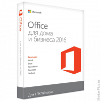 Программный продукт MICROSOFT Office Home and Business 2016 Russia Only DVD, T5D-02705/T5D-02292