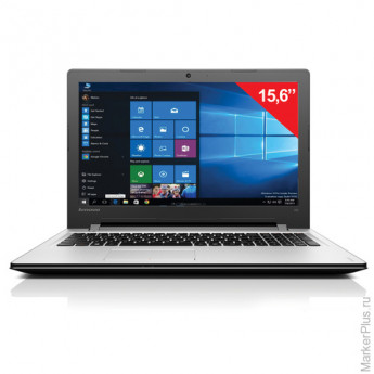 Ноутбук LENOVO 300-15ISK, 15,6'', INTEL Core i3-6100U, 2,3 ГГц, 4 Гб, 1 Тб, R5M430, DVD-RW, Windows