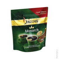 Кофе Jacobs Monarch растворимый 500г пакет