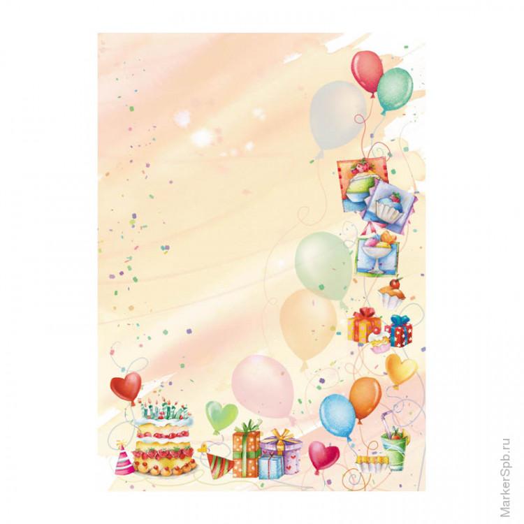 Фон для поздравления девочки с днем рождения, поздравлением апреля