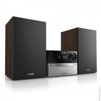 Музыкальный центр PHILIPS BTD2339/51,MP3-CD,CD,CD-R(RW), DVD, FM тюнер,Bluetooth, 20Вт