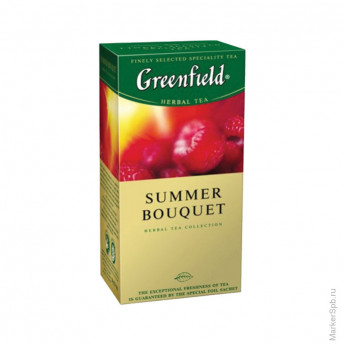 Чай Greenfield Summer Bouquet, трав., 25 пакетиков*1.5 г.