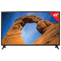 "Телевизор LG 49"" (124,5 см) 49LK5910, LED, 1920x1080 Full HD, Smart TV, Wi-Fi, 50 Гц, HDMI, USB, черный, 13 кг"