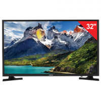 "Телевизор SAMSUNG 32"" (81,2 см) 32N5300, LED, 1920x1080 Full HD, Smart TV, Wi-Fi, HDMI, USB, черный, 5,6 кг"
