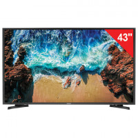 "Телевизор SAMSUNG 43"" (109,2 см) 43N5000, LED, 1920x1080 Full HD, 16:9,100 Гц, HDMI, USB, черный, 11 кг"