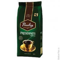 "Кофе в зернах PAULIG (Паулиг) ""Presidentti Original"", натуральный, 250 г, вакуумная упаковка, 16570"