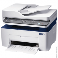 МФУ лазерное XEROX Work Centre 3025NI (принтер, копир, сканер, факс), А4, 20 стр./мин, 15000 стр./ме