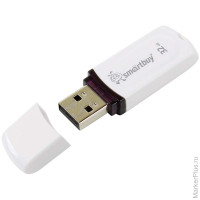 "Память Smart Buy ""Paean"" 32GB, USB 2.0 Flash Drive, белый"