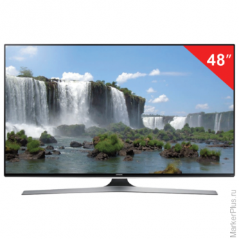 "Телевизор LED 48"" SAMSUNG UE48J6200,1920x1080FullHD, 16:9,SmartTV, Wi-Fi, 200Гц, HDMI, USB, черн, 12,3кг"