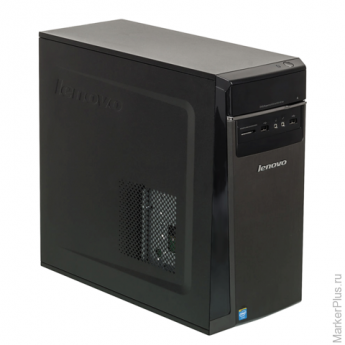 Системный блок LENOVO 300-20IBR MT INTEL Celeron N3050 1,6 ГГц, 2 Гб, 500 Гб, DVD-RW, Windows 10, черный, 90DN000XRS