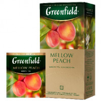 Чай Greenfield Mellow Peach зел, 25пак,1007977