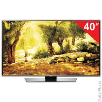 "Телевизор LED 40"" LG 40LF634V, 1920x1080 Full HD,16:9,SmartTV,Wi-Fi, 50Гц,HDMI,USB,черный, 12,7кг"