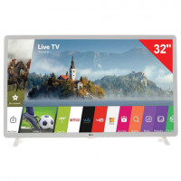 "Телевизор LG 32"" (81,2 см) 32LK6190, LED, 1920x1080 Full HD, Smart TV, Wi-Fi, 50 Гц, HDMI, USB, белый, 5 кг"
