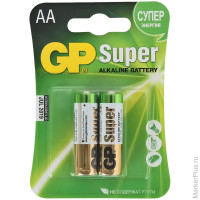 Батарейка GP Super Alkaline AA (LR06) 15A CR2/ 2 шт. в уп.