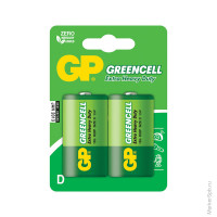 Элемент питания R20 GP Greencell 13G BC2